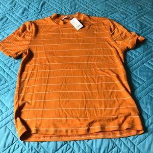 Semi mock neck shirt NWT